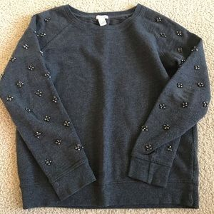 forever 21 beaded sweatshirt